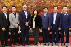 Chủ tịch UBND tỉnh tiếp và làm việc với Tập đoàn Central Retail tại Việt Nam