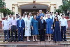 Đoàn doanh nghiệp Liên bang Nga đến thăm và tìm hiểu đầu tư tại Bắc Ninh