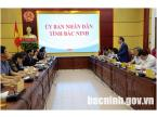 Provincial leaders worked with Samsung Yen Phong Industrial Complex