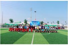 Giải bóng đá công nhân lao động Công ty TNHH Goertek chào mừng ngày phụ nữ Việt Nam