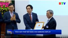 Samsung mở rộng dự án đầu tư tại Bắc Ninh