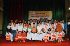 """Công Tập đoàn khoa học kỹ thuật Hồng Hải tổ chức chương trình từ thiện """"Trung Thu cho em"""""""