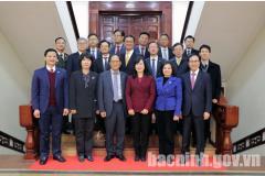 Bí thư Tỉnh ủy tiếp Đại sứ quán Hàn Quốc tại Việt Nam