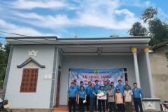 """Công đoàn Công ty TNHH Seojin System Vina trao hỗ trợ làm nhà """"Mái ấm Công đoàn"""" cho đoàn viên có hoàn cảnh khó khăn"""