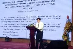 Bài phát biểu của Bộ Kế hoạch và Đầu tư
