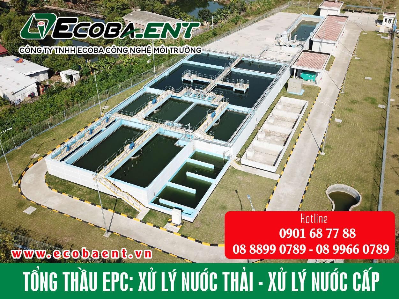 Công ty TNHH Ecoba công nghệ môi trường